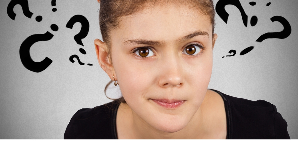 Sceptical girl