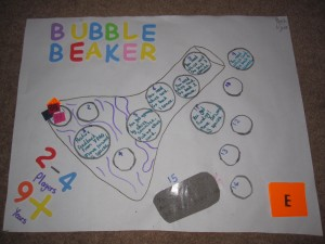 YPAGE Bubble Beaker Board Game