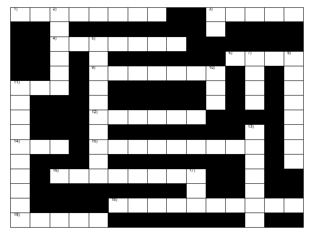 Full size crossword