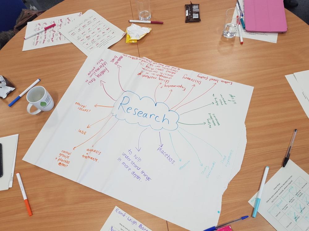 Diagram of research